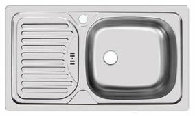 Врезная кухонная мойка UKINOX Classic CLM 760.435-GT5K
