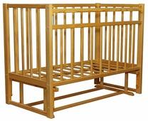 Кроватка Волжская деревообрабатывающая компания Кр1-03м (классическая)