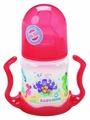 Baby Nova Бутылочка полипропиленовая с широким горлом и ручками, 150 мл с рождения