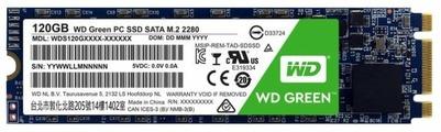 Твердотельный накопитель Western Digital WD GREEN PC SSD 120 GB (WDS120G1G0B)