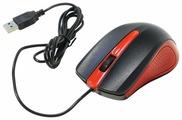 Мышь Oklick 225M Black-Red USB