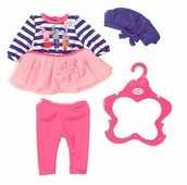Zapf Creation Комплект одежды для куклы Baby Born 824528 в ассортименте