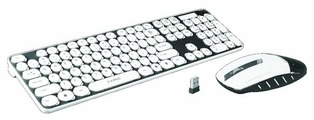 Клавиатура и мышь MARVO KC-403W White USB