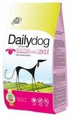 Корм для собак Dailydog Adult Medium Breed lamb and rice