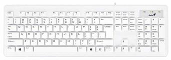 Клавиатура и мышь Genius SlimStar 130 White USB