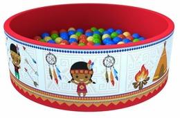Детский бассейн ROMANA Индейцы (ДМФ-МК-02.52.01)