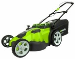 Газонокосилка greenworks 2500207 G-MAX 40V 49 cm 3-in-1