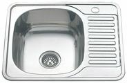 Врезная кухонная мойка MELANA MLN-5848 58х48см нержавеющая сталь