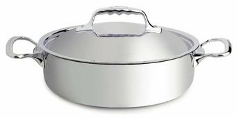 Сковорода De Buyer Affinity 3741.24 24 см с крышкой