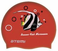 Шапочка для плавания ATEMI PSC404