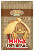 Мука Эндакси гречневая, 0.5 кг
