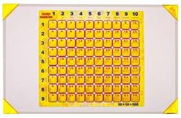 Пазл Гео-Магнит Таблица умножения (1010), 101 дет.