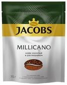 Кофе растворимый Jacobs Monarch Millicano с молотым кофе, пакет