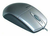 Мышь Mitsumi Optical Wheel Mouse Silver PS/2