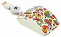 Мышь Bodino COLOURFUL DAY White USB