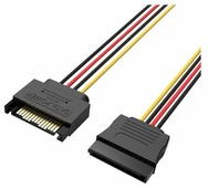 Кабель Vention SATA 15 pin - SATA 15 pin (KDABY) 0.3 м