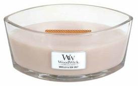 Свеча WoodWick Vanilla & Sea Salt, эллипс
