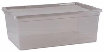 ПОЛИМЕРБЫТ Коробка для хранения Mystery 10л, 37х26х14 см