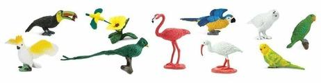 Фигурки Safari Ltd Экзотические птицы 680404