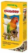 Зоомир корм Сильвер для средних попугаев