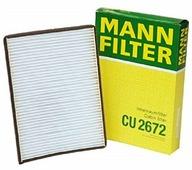 Салонный фильтр Mann-Filter CU2672