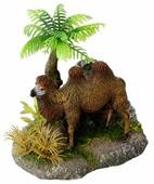 Фигурка для аквариума Europet Bernina Верблюд под пальмой EPB234-410691 10.5х8х11 см