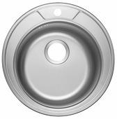 Врезная кухонная мойка ЕМАР 490 49х49см нержавеющая сталь