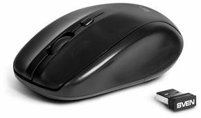 Мышь SVEN RX-305 Wireless Black USB