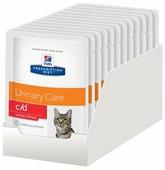 Hill's Корм для кошек Hill s Prescription Diet для профилактики МКБ, с курицей 85 г (кусочки в соусе)