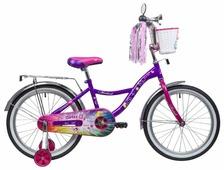 Детский велосипед Novatrack Little Girlzz 20 (2019)