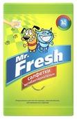 Салфетки Mr. Fresh влажные антибактериальные 15 шт