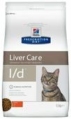 Корм для кошек Hill's Prescription Diet при проблемах с печенью, с курицей 1.5 кг