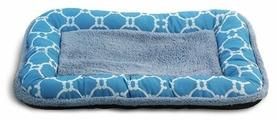 Лежак для собак, для кошек Triol Лазурный берег прямоугольный низкий борт M (31921012) 70х47х6 см