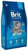 Корм для котят Brit Premium с курицей, с лососем