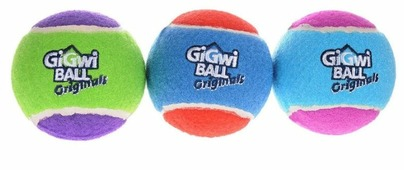 Мячик для собак GiGwi GiGwi ball Original средний 3 шт (75338)