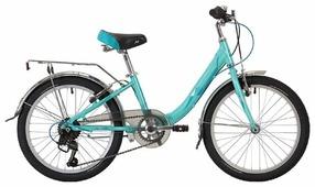 Подростковый горный (MTB) велосипед Novatrack Ancona 20 (2019)