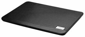 """Подставка для ноутбука Deepcool N17 (N17BLACK) 14\""""330x250x25мм 21дБ 1xUSB 1x 140ммFAN 465г черный"""