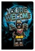 Блокнот LEGO Movie 2 Batman 52340 21x14 см (96 листов)