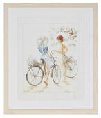 Lanarte Набор для вышивания Велосипедистки 39 x 49 см (0007949-PN)
