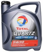 Моторное масло TOTAL Quartz INEO Long Life 5W30 5 л