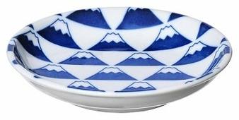 KAKUNI Тарелка Гора Фудзи 12.5 см