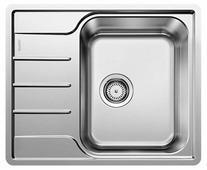 Врезная кухонная мойка Blanco Lemis 45 S-IF Mini 60.5х50см нержавеющая сталь