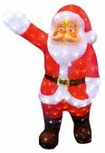 Новогоднее украшение Neon-night Световая фигура Санта Клаус приветствует 513-272