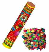Пневмохлопушка MILAND Бабахалка. Круглое конфети (бумажное) Х-1451