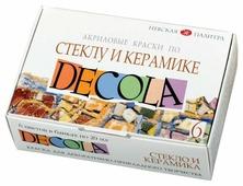 Краски Невская палитра Decola по стеклу и керамике 4041026 6 цв. (20 мл.)
