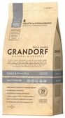 Корм для кошек Grandorf Adult Sterilized Rabbit&Rice