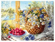 Чудесная Игла Набор для вышивания Летнее утро 40 x 30 см (50-06)