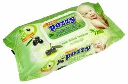 Влажные салфетки Pozzy с оливковым маслом
