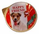 Корм для собак Happy Friend Паштет с говядиной
