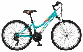 Подростковый горный (MTB) велосипед Schwinn High Timber 24 Girl Teal (2019)